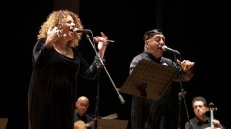 PEPPE BARRA e MARINA BRUNO in Rosa d'Argiento Rosa d'Ammore