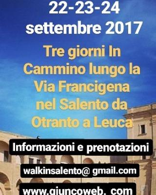 Via Francigena - In Cammino da Otranto a Santa Maria di Leuca