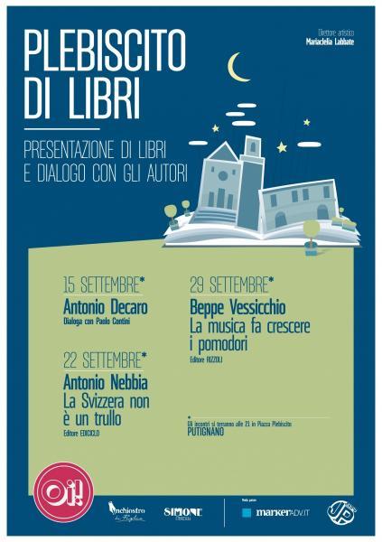 Incontro con l'autore Beppe Vessicchio