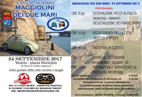 XI Raduno nazionale Maggiolini dei due mari (raduno auto storiche)