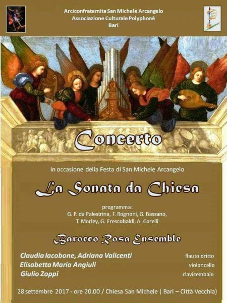 """Concerto di Musica Antica """" La Sonata Da Chiesa"""""""