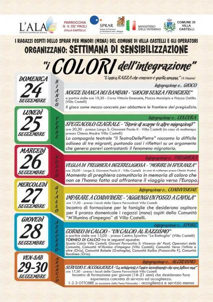 I colori dell'integrazione