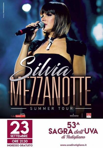 53^ Sagra Dell'Uva di Rutigliano: Silvia Mezzanotte in concerto