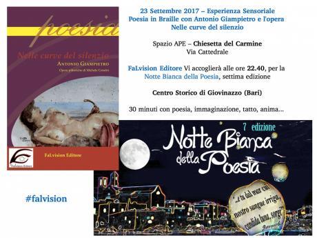 Notte Bianca della Poesia 2017 - Poesia in Braille