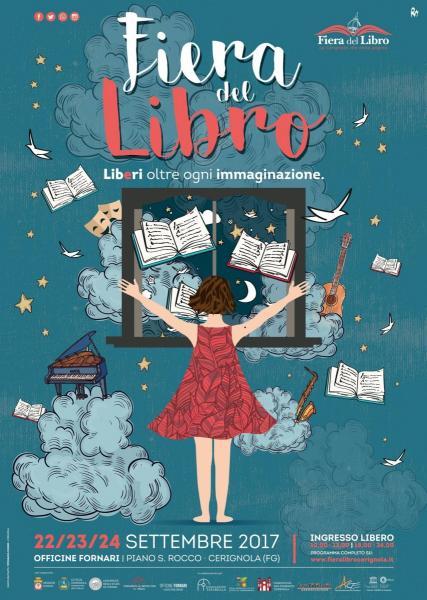 """VIII Edizione """"Fiera del libro, dell'editoria e del giornalismo. Città di Cerignola"""""""
