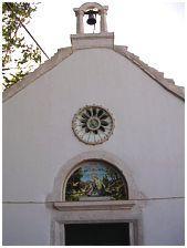 Apertura della chiesetta della Provvidenza e processione della Madonna