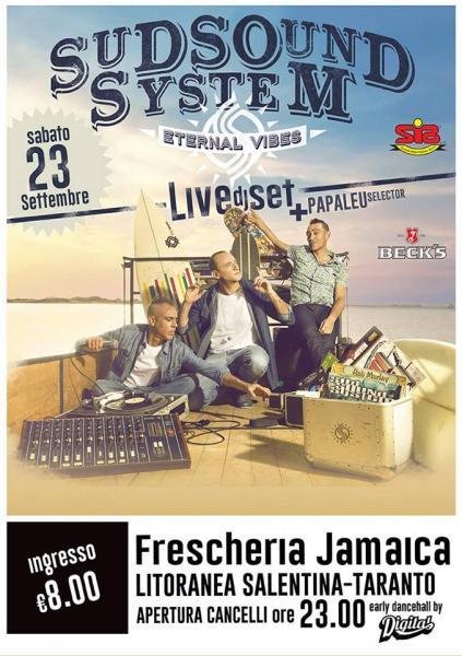 Sud Sound System Live Dj Set Feat.papaleu Selector