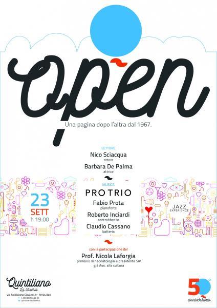 23/09 OPEN!