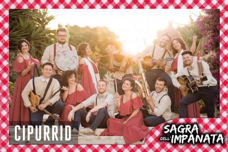 """Pizzica e musica popolare con """"I Cipurrid"""" per la sagra dell'impanata"""