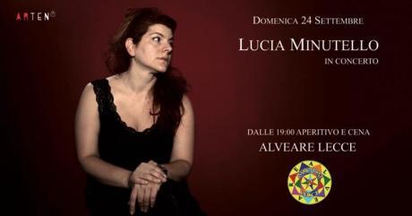 Lucia Minutello, interprete musicale salentina in concerto