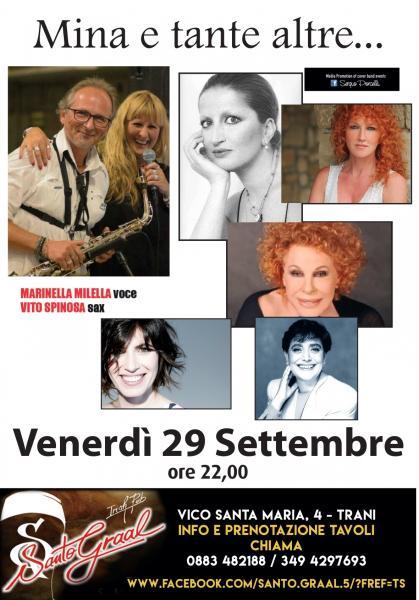 Mina e tante altre... Marinella Milella live a Trani