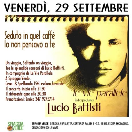 Oggi, 29 settembre. Un viaggio tra le splendide canzoni di Lucio Battiisti