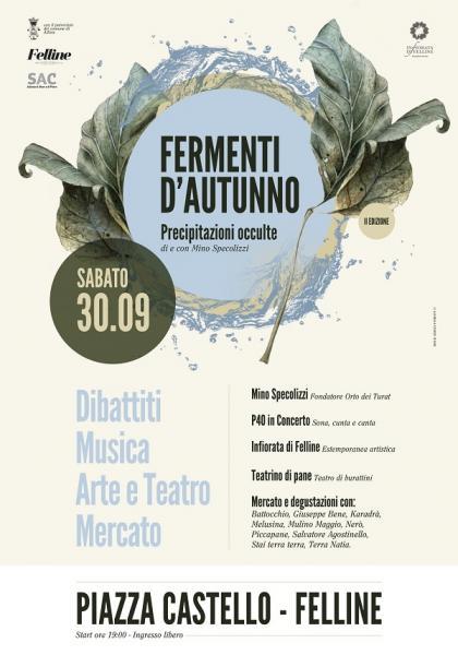 """Seconda edizione di """"Fermenti d'Autunno""""."""