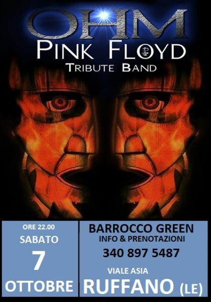 Ohm Pink Floyd - Ruffano (le) - Barrocco Green
