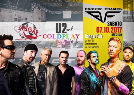 U2 Versus Coldplay after DJ.