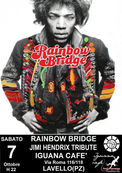 Rainbow Bridge in concerto - A Tribute to The Jimi Hendrix Experience