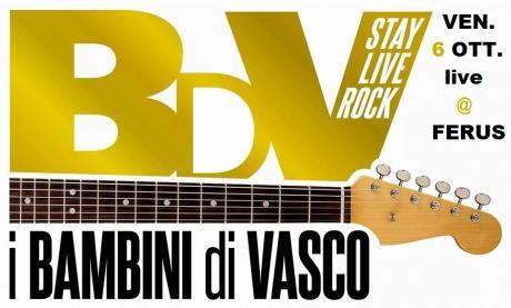 "VASCO ROSSI special tribute night con ""I BAMBINI DI VASCO"""