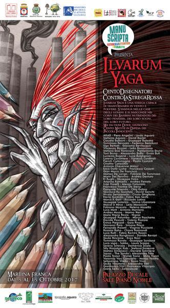 Ilvarum Yaga 100 disegnatori contro la Strega Rossa