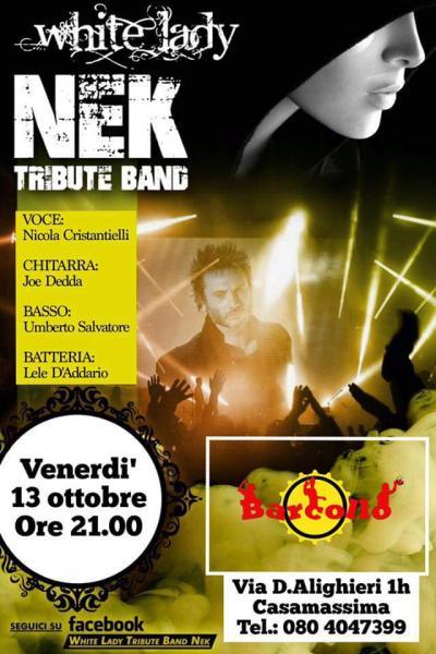 """Barcollo"".. NEK Tribute band!"