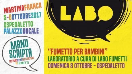 Workshop: Fumetto per bambini a cura di LABO