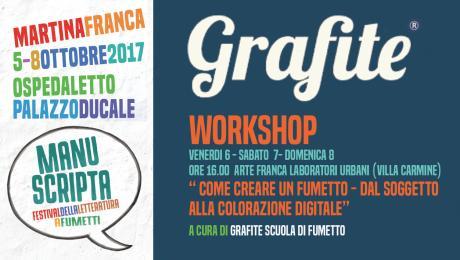 Workshop: Inchiostrazione, sceneggiatura e colorazione digitale