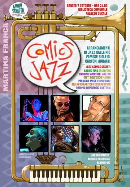 Comics Jazz Sextet | Cartoni & Jazz