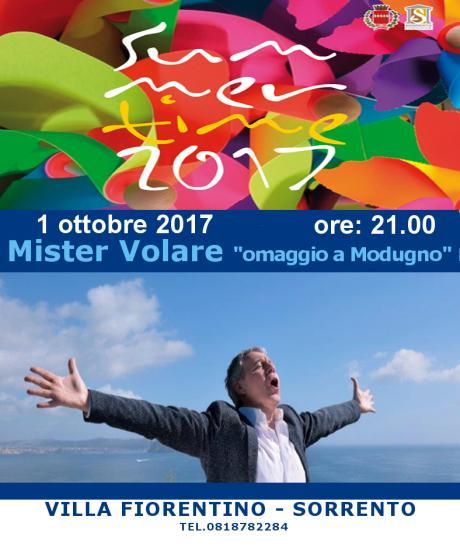 """Mister Volare """"omaggio a Domenico Modugno"""""""