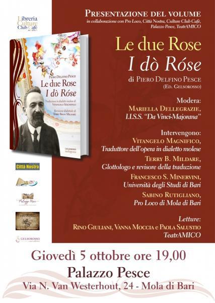 Presentazione del libro 'Le due Rose'