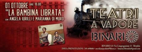 Teatri a Vapore - la Bambina Librata