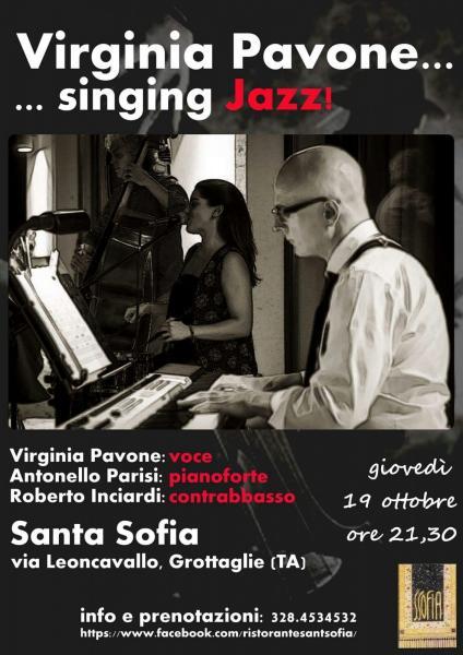 Virginia Pavone ... Sing Jazz