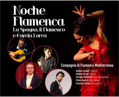 """""""Noche Flamenca"""" -  Il Flamenco e la Spagna di  Federico Garcia Lorca"""