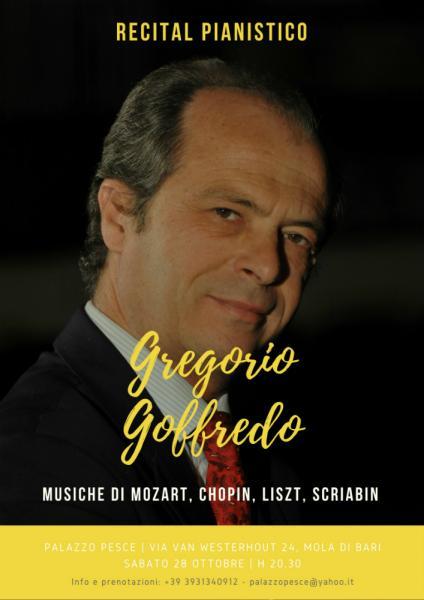 Recital pianistico - GREGORIO GOFFREDO