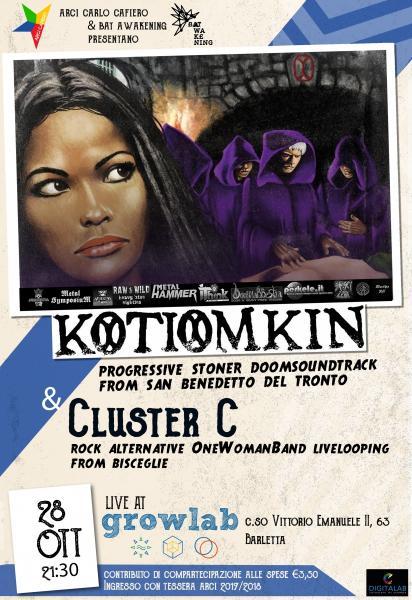 28 Kotiomkin + Cluster C live at Grow Lab