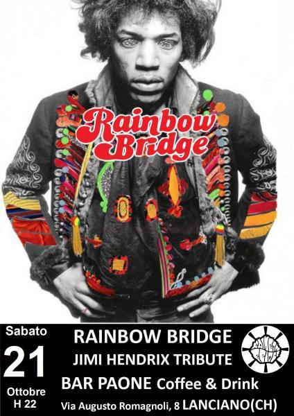 Rainbow Bridge in concerto - A Tribute to Jimi Hendrix Experience
