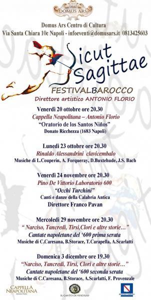 Sicut Sagittae Festival Barocco
