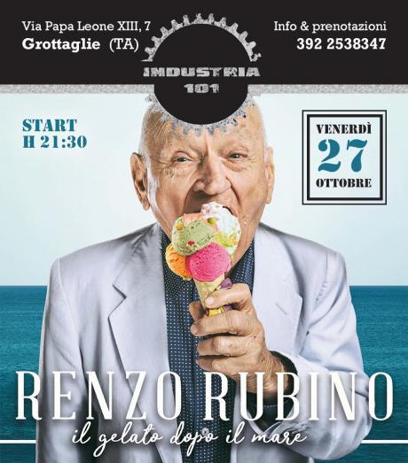 Il 27 ottobre Renzo Rubino in concerto al bistrot Industria 101