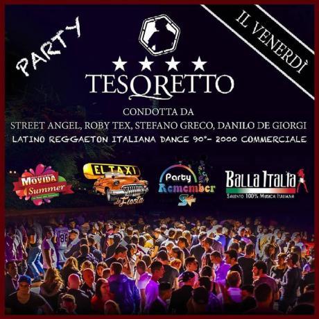 Al Tesoretto si balla con la dance commerciale anni 90 e i ritmi latini