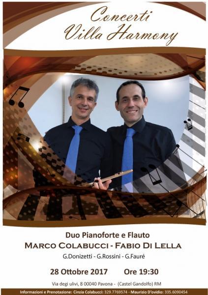 I Concerti di Villa Harmony
