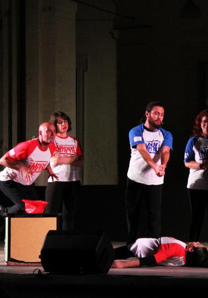 Imprò Lecce vs Civitavecchia: la sfida di Improvvisazione Teatrale a Lecce