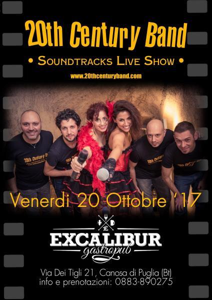 20th Century Band live @ Excalibur Gastropub, Canosa di Puglia (Bt)