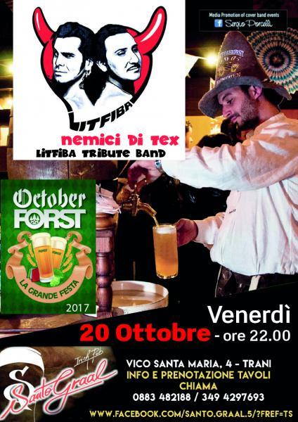 Nemici Di Tex - Litfiba Tribute band a Trani