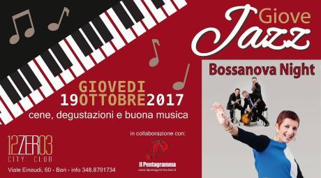 """La bossanova della Leone nel """"Giove Jazz"""" del 12.03"""