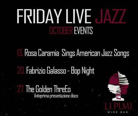 Friday Live Jazz - Fabrizio Galasso- Bop Night