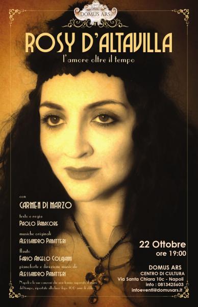 ROSY D'ALTAVILLA L'amore oltre il tempo con Carmen di Marzo