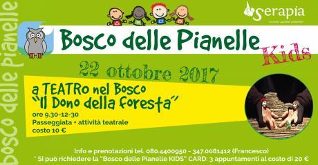 Bosco delle Pianelle KIDS: a teatro nel bosco