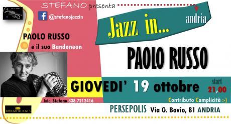 Paolo Russo e il suo bandoneon