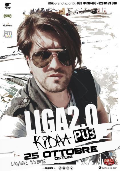 """LIGA 2.0 """"Luciano Ligabue Tribute """" apertura stagione invernale"""