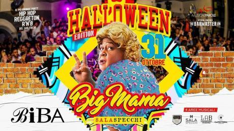 BigMama - The only Black Party  31.10.2017 BIBA  HIP HOP - R&B - REGGAETON