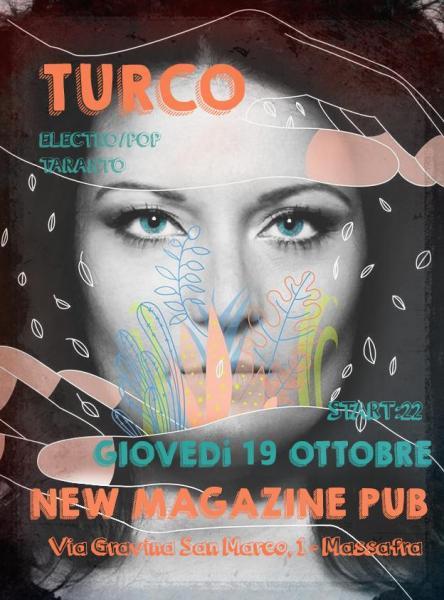 Chiara Turco electtro/pop live al new Magazine