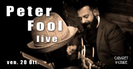 Peter Fool live
